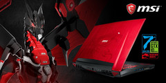 MSI: GT72VR 7RE-493 Dominator Pro Dragon Edition im Sonderdesign