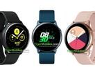 neue samsung smartwatch startet als galaxy watch active. Black Bedroom Furniture Sets. Home Design Ideas
