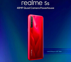 Realme 5s mit 48-MP-Quad-Kamera kommt am 20. November.