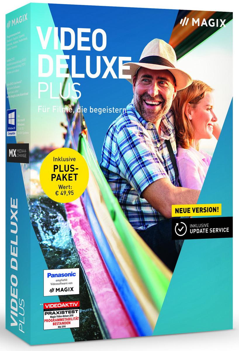 Videobearbeitung: Magix Video deluxe 2019 ab 70 Euro