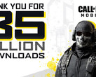 Call of Duty: Mobile ist der Download-King auf iOS, mehr als 35 Millionen Downloads.