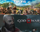 Spielecharts: Far Cry 5 und God of War die Topseller.