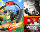 Game Sales Awards Juli 2020: Ring Fit Adventure, Ghost of Tsushima und F1 2020.