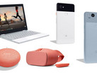 Mega-Google-Leak: Pixel 2, Pixelbook, Google Home Mini und Daydream View.