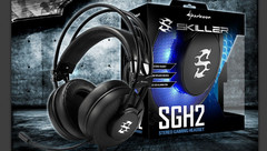Sharkoon Skiller SGH2: USB Gaming-Headset mit blauer LED-Beleuchtung