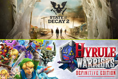 Spielecharts: State Of Decay 2 und Hyrule Warriors auf Platz 1.