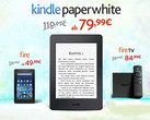 Amazon: Fire, Kindle Paperwhite, Paperwhite 3G und Fire TV günstiger