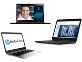 Im Vergleich: Lenovo ThinkPad X1 Carbon vs. HP EliteBook Folio 1040 G3 vs. Dell Latitude 14 E7470