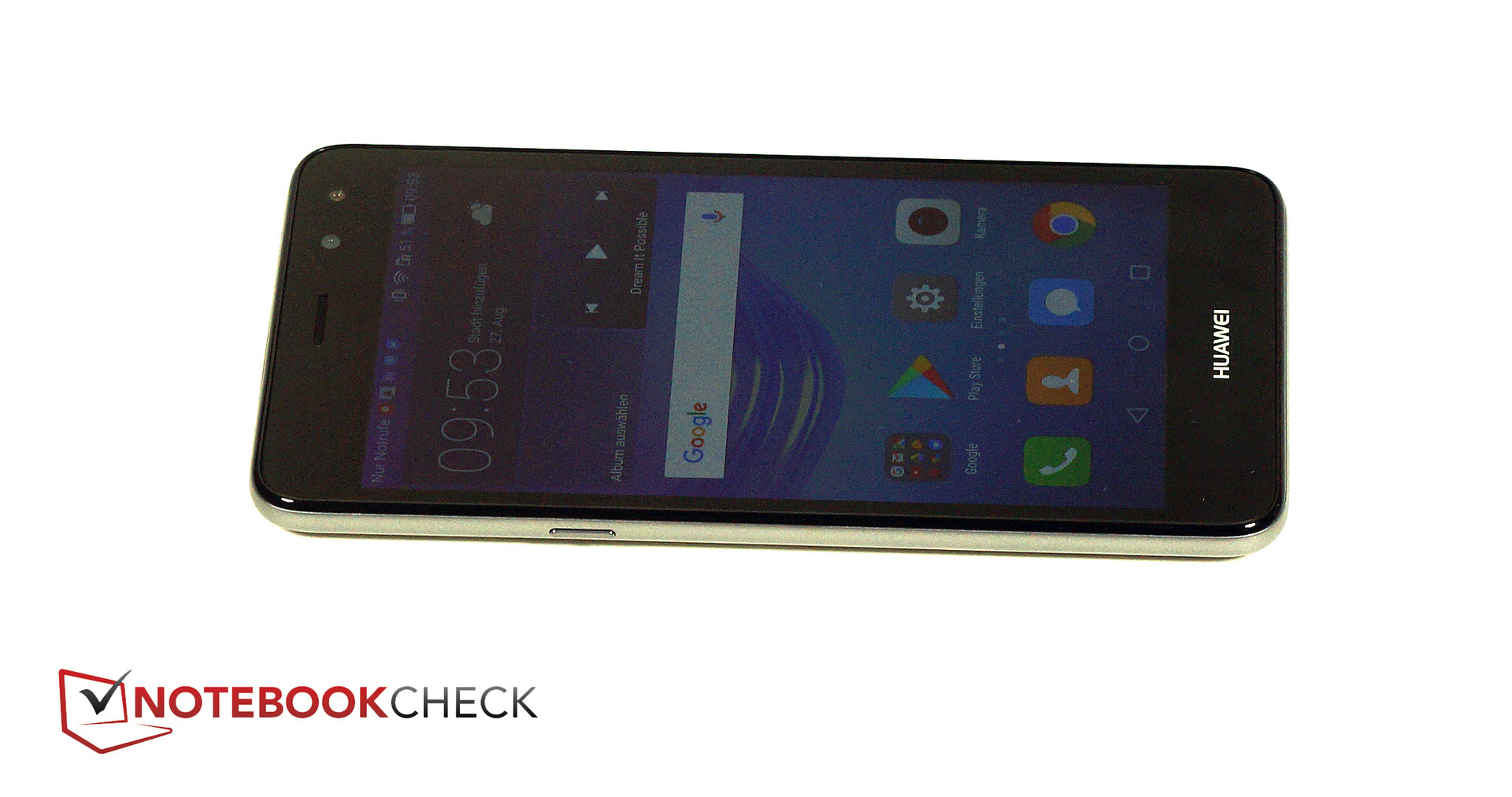 Test Huawei Y6 2017 Smartphone