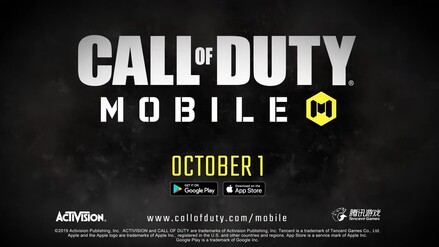 Call of Duty: Mobile startet als Mobile Game für Android und iOS am 1. Oktober