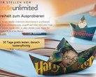 Amazon E-Book Flatrate: Kindle Unlimited auch in Deutschland