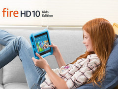 Amazon stellt neues Kindertablet Fire HD 10 Kids Edition vor.