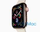Geleaktes Bild der Apple Watch Series 4. (Bild: 9to5Mac)