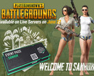 PlayerUnknown's Battlegrounds (PUBG): Update mit neuer Karte Sanhok.