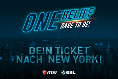 eSports: MSI und ESL One bringen MSI Gaming-Arena-Turnier (MGA) nach New York.