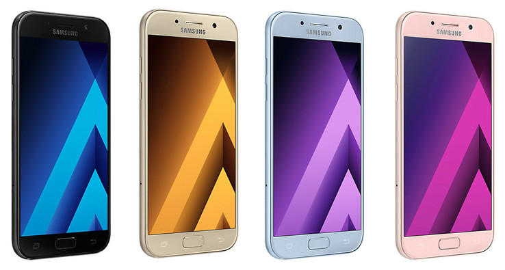Test samsung galaxy a5 2017 smartphone notebookcheck.com tests