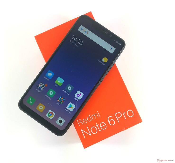 Micro Sd Karte Handy.Test Xiaomi Redmi Note 6 Pro Smartphone Notebookcheck Com