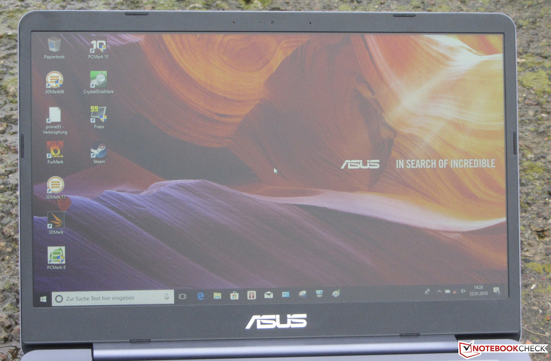 Test Asus Vivobook S14 S406ua I5 8250u Ssd Hd Laptop