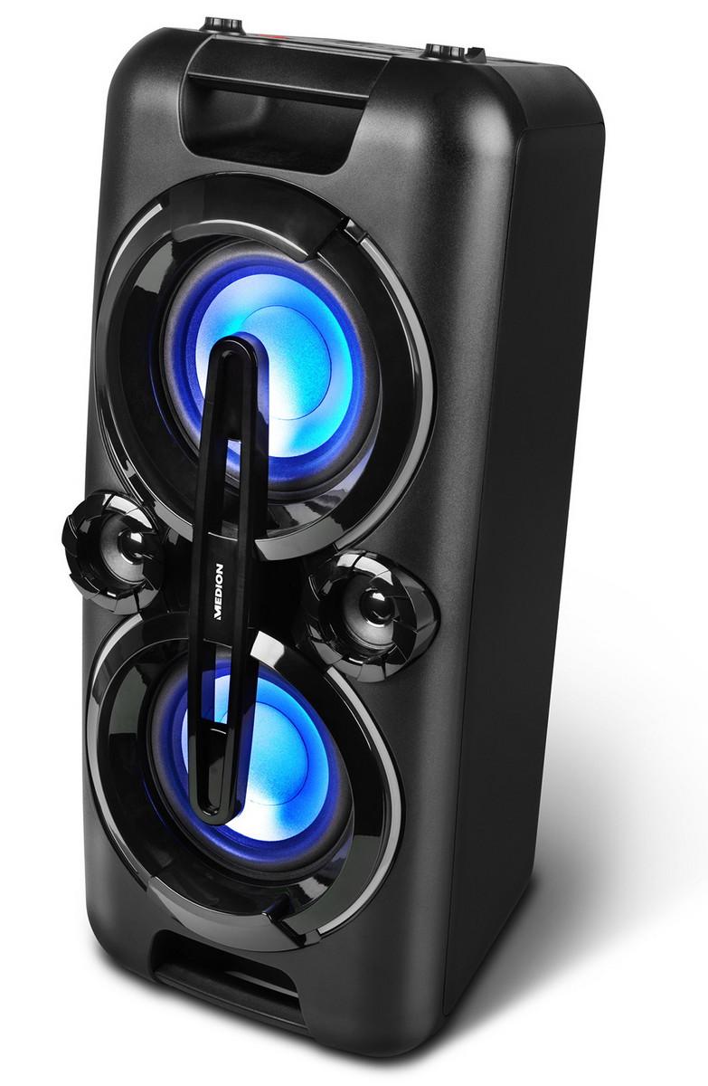 medion life p67013 party sound mit bluetooth led. Black Bedroom Furniture Sets. Home Design Ideas