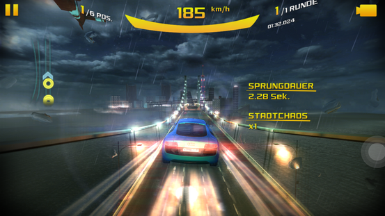 Oukitel K6000 Plus Screen Asphalt 8