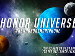 Honor: Smartphone Launch-Event am 5. April