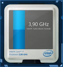 maximaler Turbo-Boost (1 und 2 Kerne): 3,9 GHz