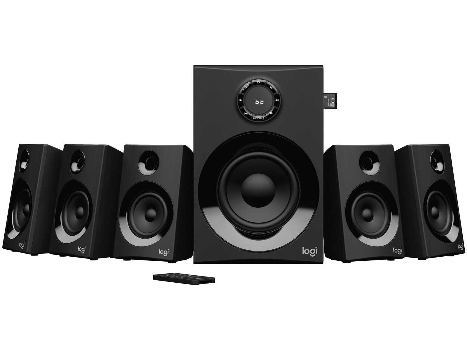 Logitech Z607 Surround Sound System Mit Bluetooth F 252 R 130