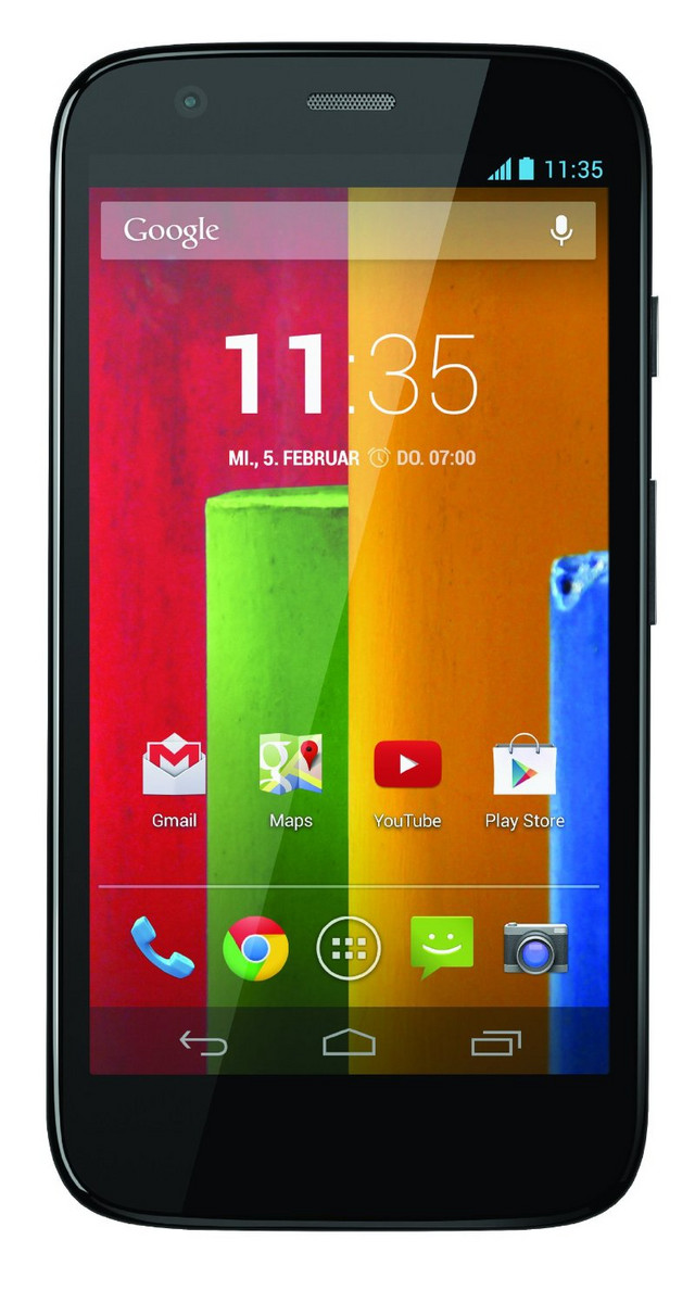 Moto G 3 Generation Datenblatt