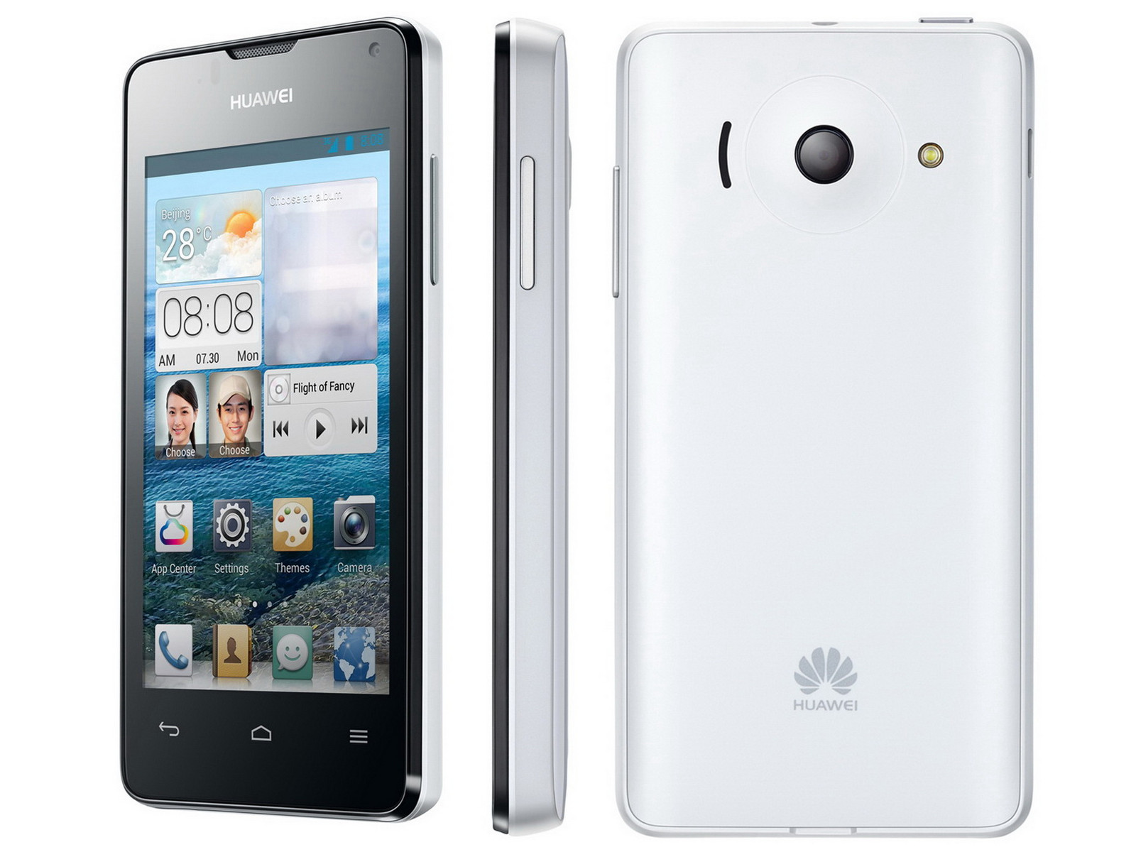 Huawei Smartphone Ascend Y300 Ab 2 April Für 121 Euro Bei O2