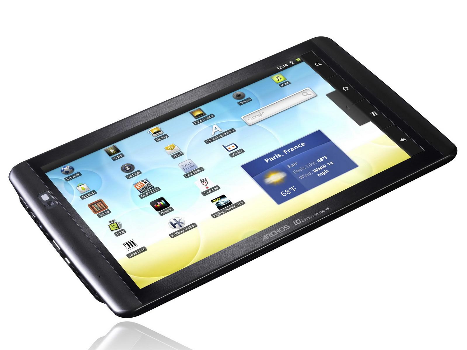 archos 101 internet tablet firmware 4.0