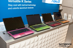 "CeBIT 2011 | Asus 15,6""-Notebook-Serie K53 im Alu-Metallic-Chic"