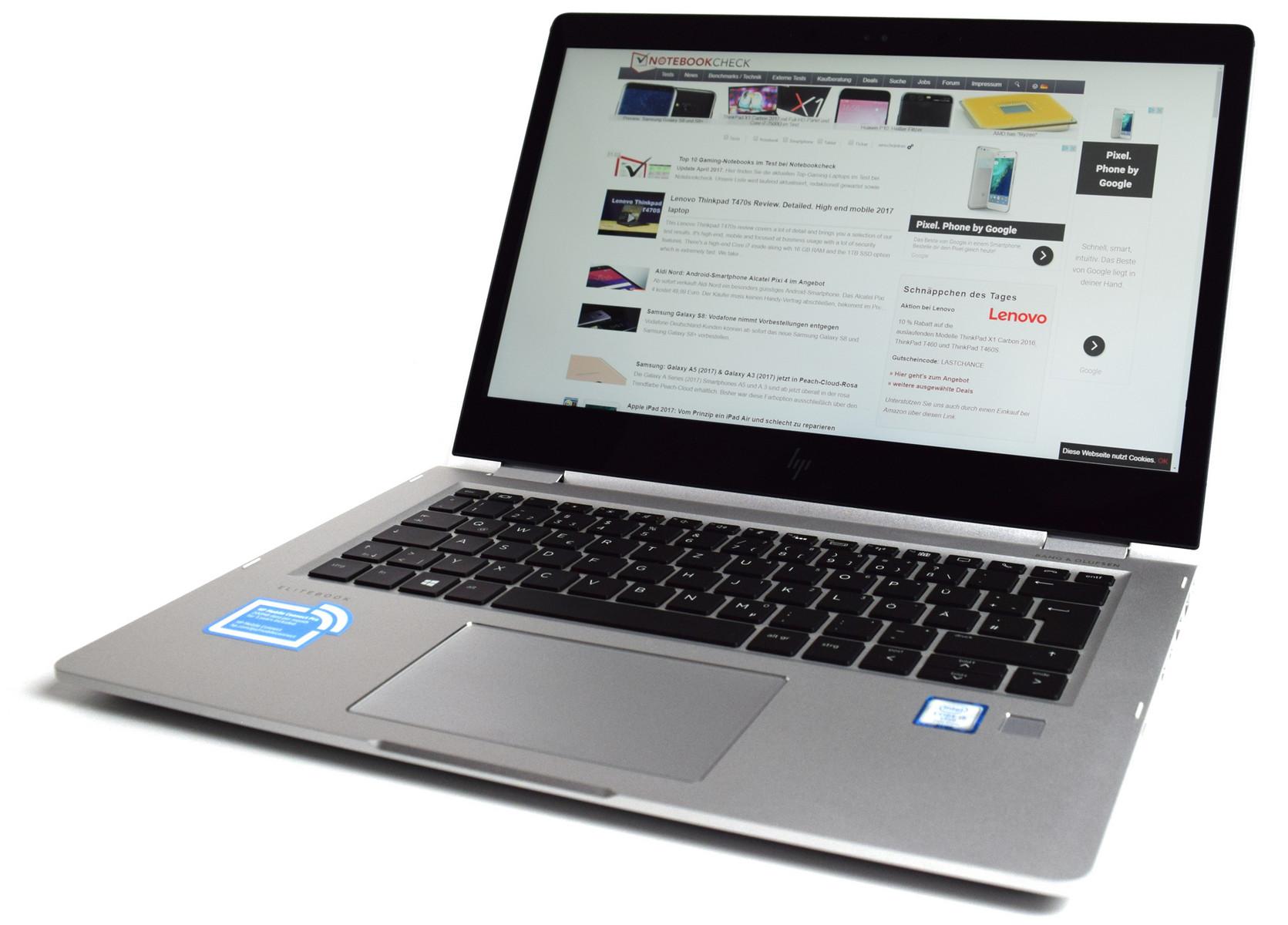 Hp Elitebook X360 1030 G2 Notebookcheck Com Externe Tests