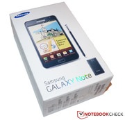 Im Test:  Samsung Galaxy Note N7000