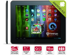 "Prestigio: Tablet Multipad 9.7 Ultra (PMP5197D) mit 9,7""-IPS-Display für 249 Euro"