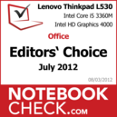 Award Lenovo Thinkpad L530 2479-3BG