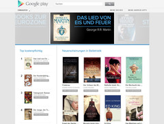 Google: E-Book-Shop Books on Google Play startet in Deutschland