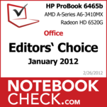 Award HP ProBook 6465b LY433EA