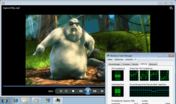 Big Buck Bunny 720p mp4 flüssig CPU 39%