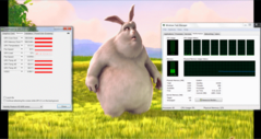 Big Buck Bunny H.264 1920 x 1080 Windows Media Player