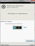 Kühlleistungs-Diagnosetool