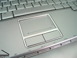 Dell XPS M1210 Touchpad