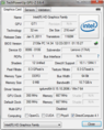Systeminfo GPUZ Intel HD (Sandy Bridge)