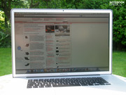 Im Test: Apple MBP17 Non-Glare