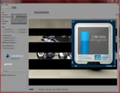2.9 GHz @ Multi-Core-Rendering Cinebench R10