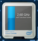 2,6 GHz maximaler Turbo Boost