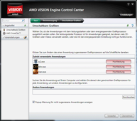 AMD Vision Engine Control Center: