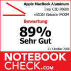 Bewertung Apple MacBook