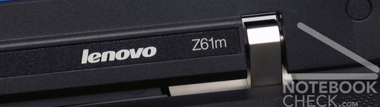 IBM/Lenovo Thinkpad Z61m Logo