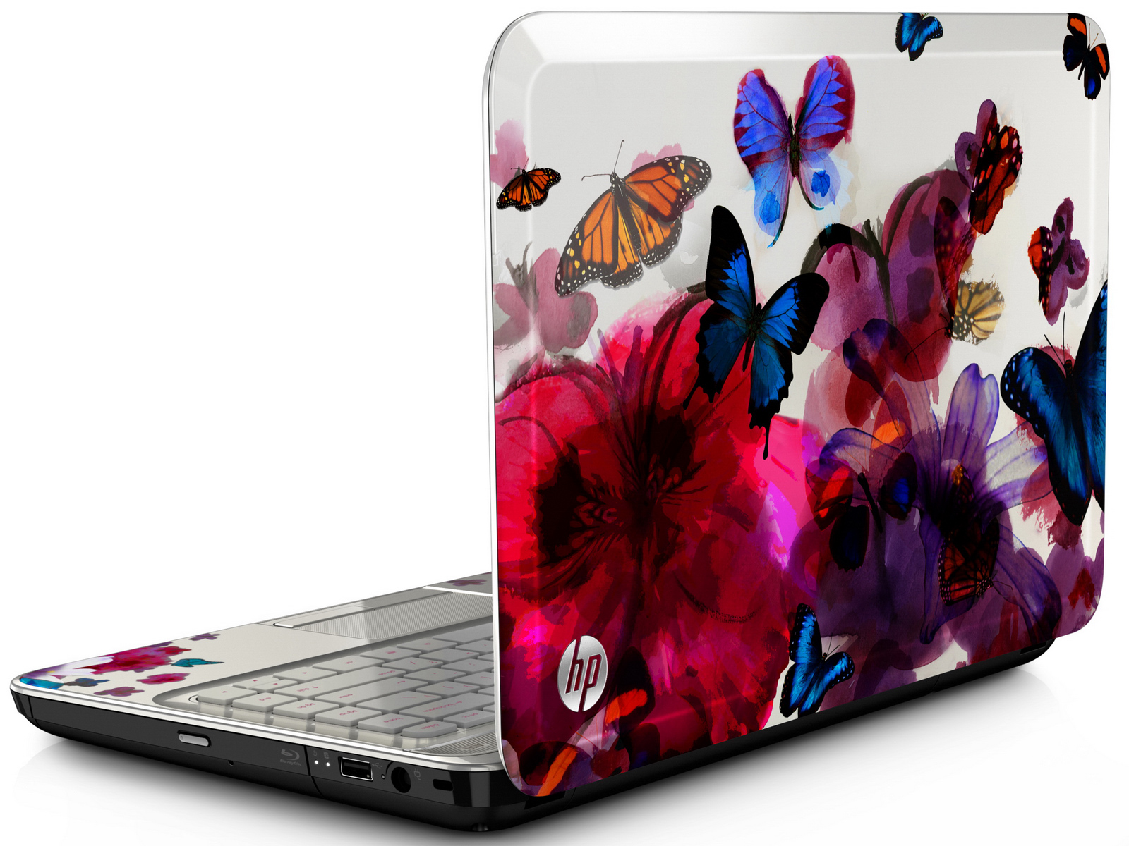 hp 14 notebook hp pavilion g4 butterfly blossom special edition news. Black Bedroom Furniture Sets. Home Design Ideas