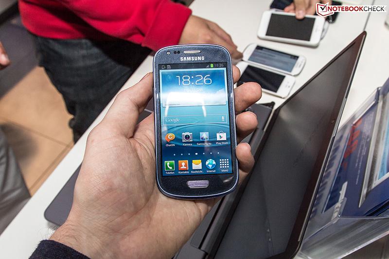 Samsung: Galaxy S3 Mini GT-I8190 Smartphone (4 Zoll) im